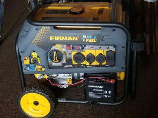 New fiman dual fuel generator