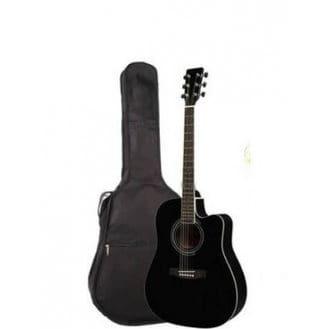 Acoustic Box Guitar – Black