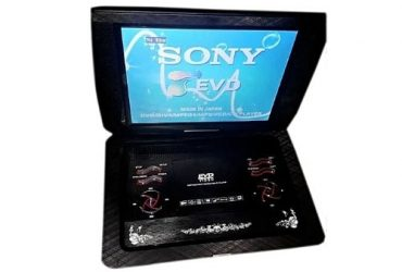 Sony 30.8 Inch Large Size Portable Rechargeable Player Dvd/cd/tv/fm/game/disc/radio