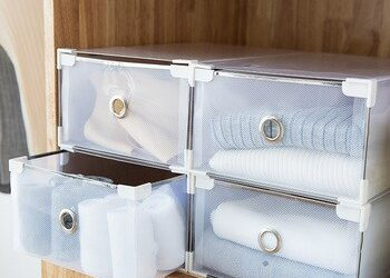 Translucent Thickened Shoe Drawer