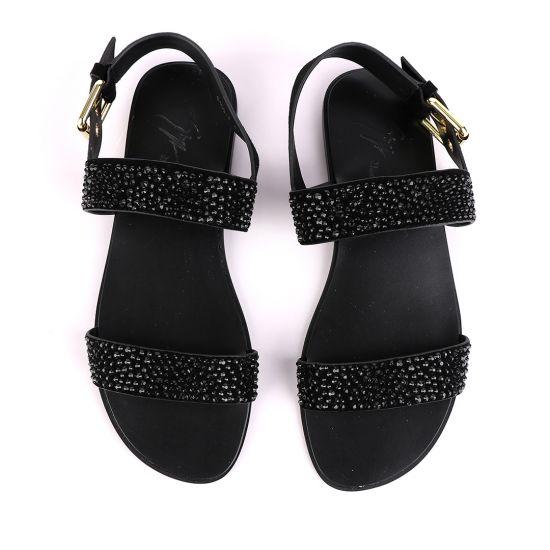 Giuseppe Zanotti Crystal Studded Sandals