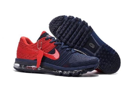Navy Blue Red Nk Max 2017 Sneaker