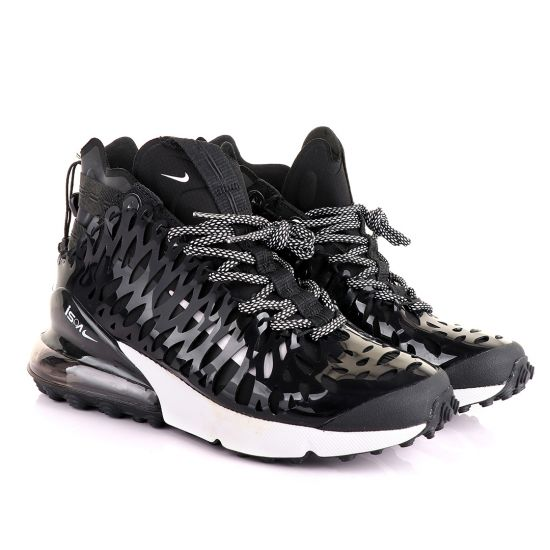 NK Ispa Air Max 270 Black And White Sneakers