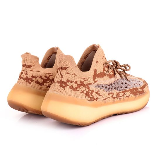 Adidas 350 Yeezy Boost Brown Shade Sneakers