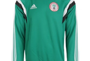 adidas Men's 2014 World Cup Nigeria LIC Sweat Top Pullover