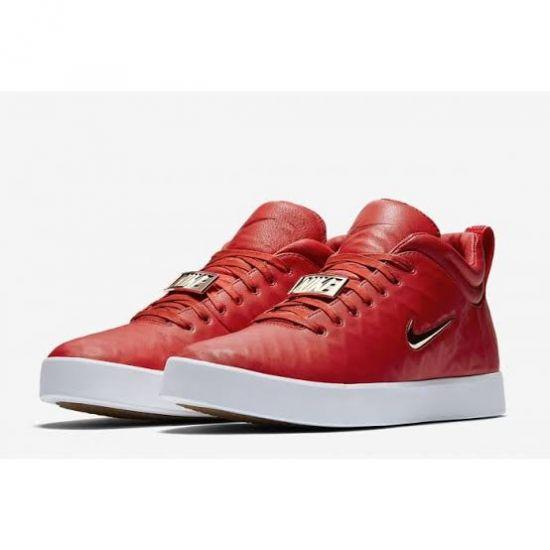 Nike Tiempo Vetta 17 Red and Gold sneakers