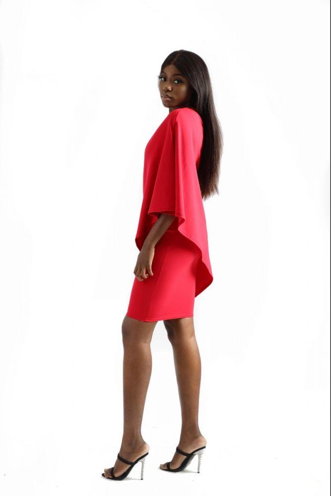 Slide Off Shoulder Dress
