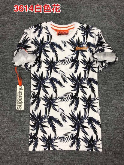 Superdry Parrot Palm Trees Tshirt White