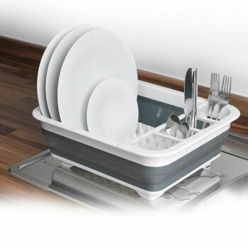 Collapsible Tableware/Dish Drainer