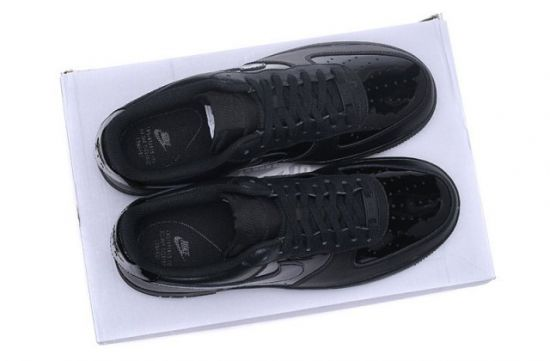 N A F 1 07 Patent Black Men's Casual Shoes Sneakerboot