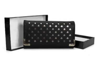 Sally Young Star Pattern Metal Trim Wallet