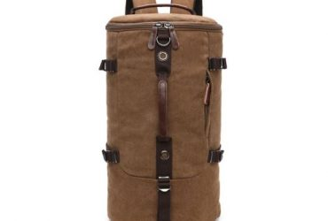 Multifunctional Outdoor Canvas Solid Back And Hand Travellers Coffee Bags
