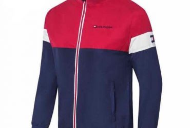 Tommy Hilfiger Red And Blue Classic Design Tracksuit