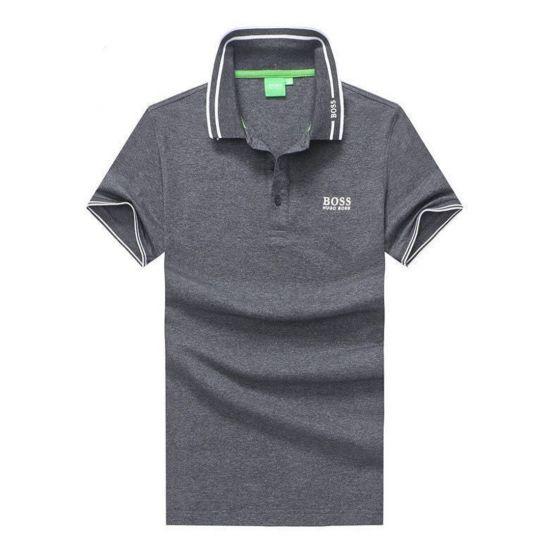 Hugo Boss Grey Men's Regular Polo Shirt