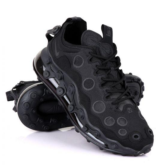 Nk Ispa AM 720 Adapt Black Poka Dot Black Sneakers