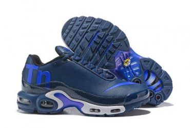 Humanized Air Max Plus Mercurial TN Blue Sneaker
