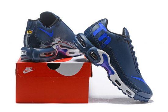 Humanized Air Max Plus Mercurial TN Blue Sneaker
