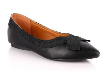 Fashionable Classic Office Woman's Flat Black shoe