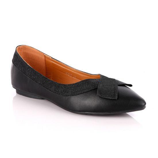 Fashionable Classic Office Woman's Flat Black shoe