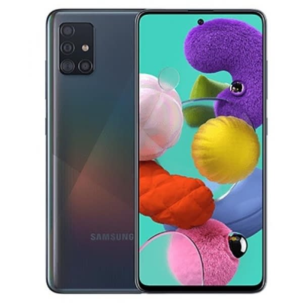 Samsung A51-dual -black 128gb Rom – 4gb Ram – 4g Lte – 6.5''- 48mp – 4000 Mah