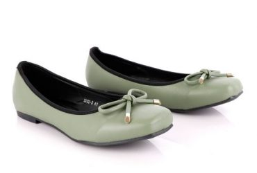 Shoe Fashionable Classic Green Women's Flat Shoe