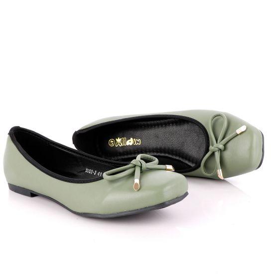 Shoe Fashionable Classic Green Women's Flat Shoe