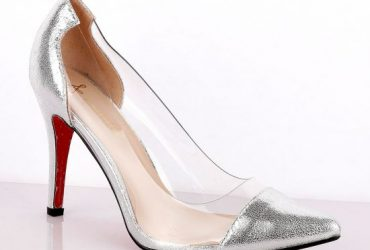 Atmosphere Classic Champagne Silver Women's High Heel Shoe