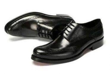 Mr Zenith Men's Corporate Brogues – Black