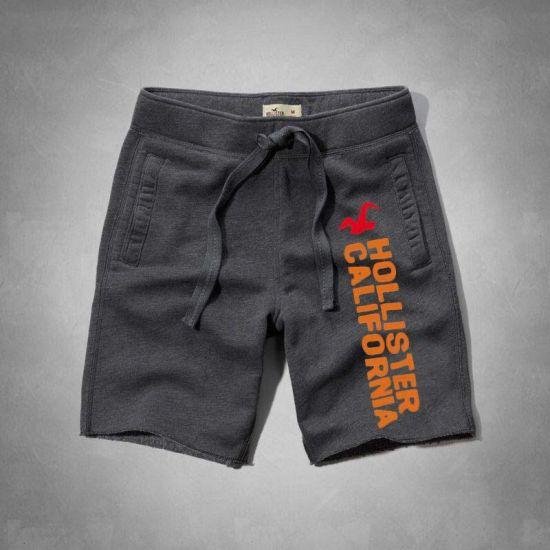 California Men's Short With side Orange Designer-Grey