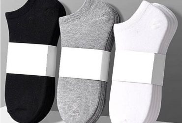 Unisex Ankle Socks – Six Pairs-in-1