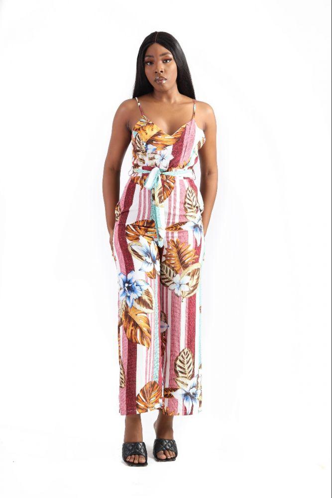Belcci Floral Jumpsuit