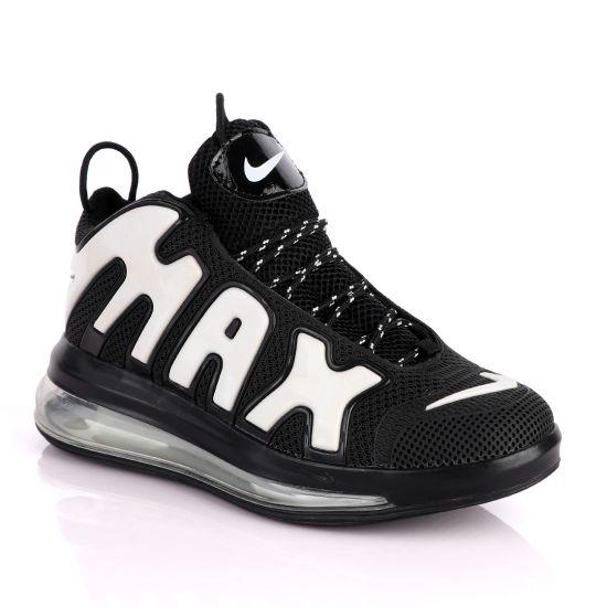 NAM Up Tempo Men Running Sneakers Black White