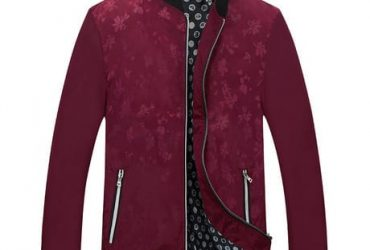 Fashion Forms Fitted Jacket – Red