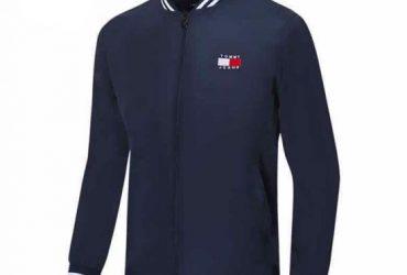 Tommy Hilfiger Big Logo Design Navy Blue Tracksuit