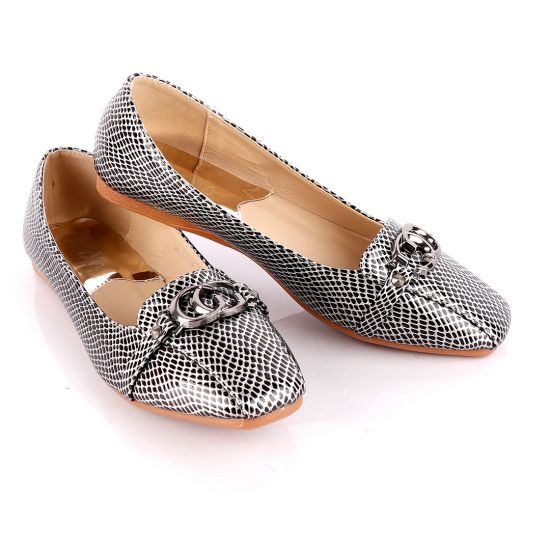 Atmosphere Office Fashion Female Flat Black shoe