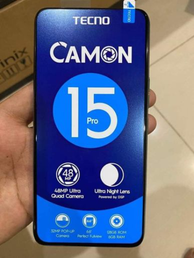 TECNO CAMON 15 PRO AVAILABLE FOR SALE
