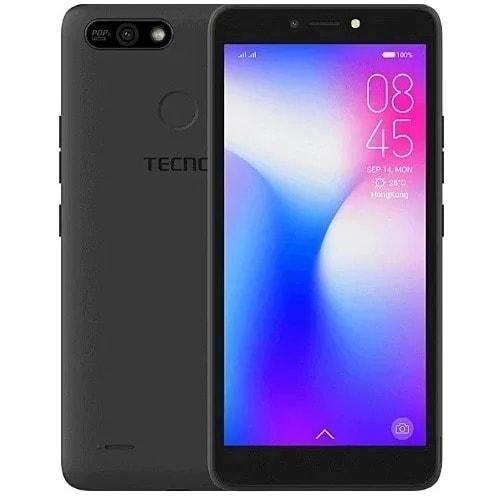 Tecno Pop2 F- B1f- Dual Sim- 16gb Rom- Beauty Camera- Face Unlock- Fingerprint- Black