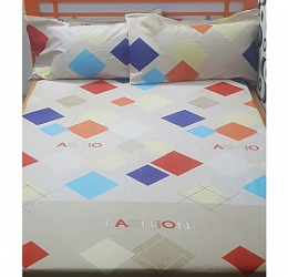Coloured Diamond Bedsheet