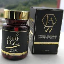 Jaw White Egg Whitening Supplement