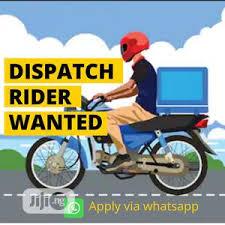 Dispatch Rider Needed
