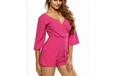 ProductEmfed Rose Wrap Playsuit