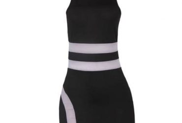 Hallow Shoulder Waist Bandage Mini Bodycon Dress