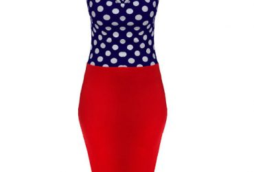 Women's Polka Dot Sleeveless