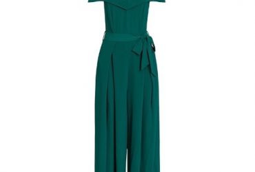 Off Shoulder Jumpsuit With Wide Leg