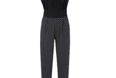 Grace Spotted Trousers Jumpsuit