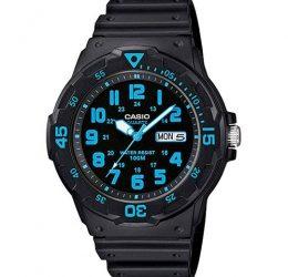Black Resin Band Medium Size Watch
