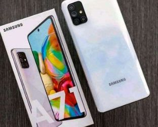 New Samsung galaxy A 71
