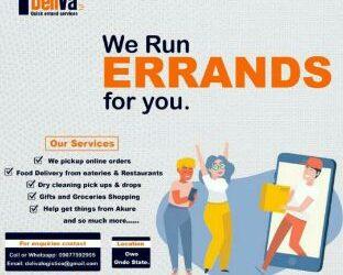 Deliva Quick Errand Services