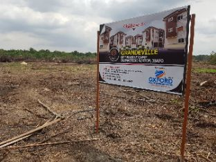 Land at ibafo with registered survey