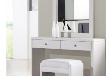 O2 Bethany Dressing Mirror With Additional Stool